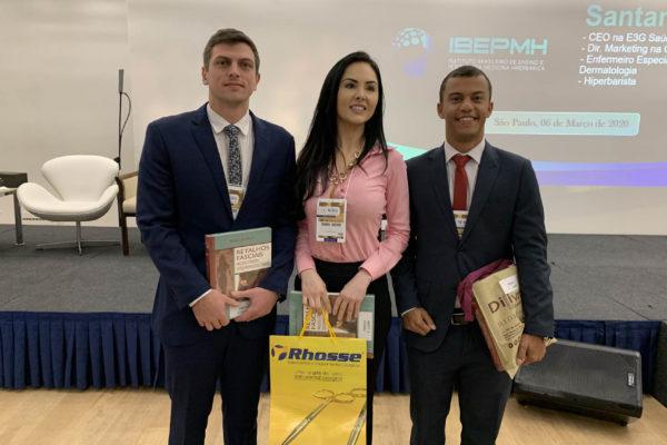 Ganhadores premiados com os melhores trabalhos enviados para o 14º Congresso do DESC