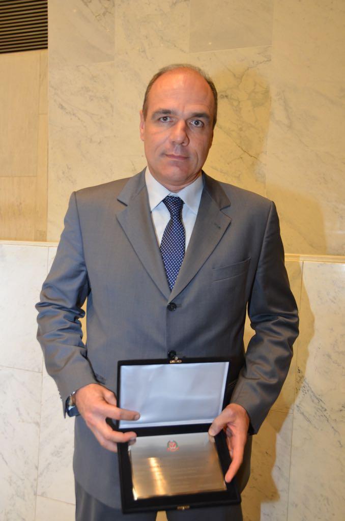 Denis Calazans e a homenagem